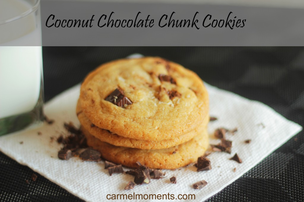 chocolate chunk cookies coconut chocolate chunk and walnut cookies