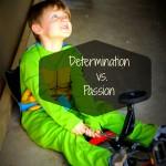 Determination vs. Passion