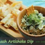 Spinach Artichoke Dip with Greek Yogurt