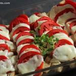 Tomato Cheese Strata
