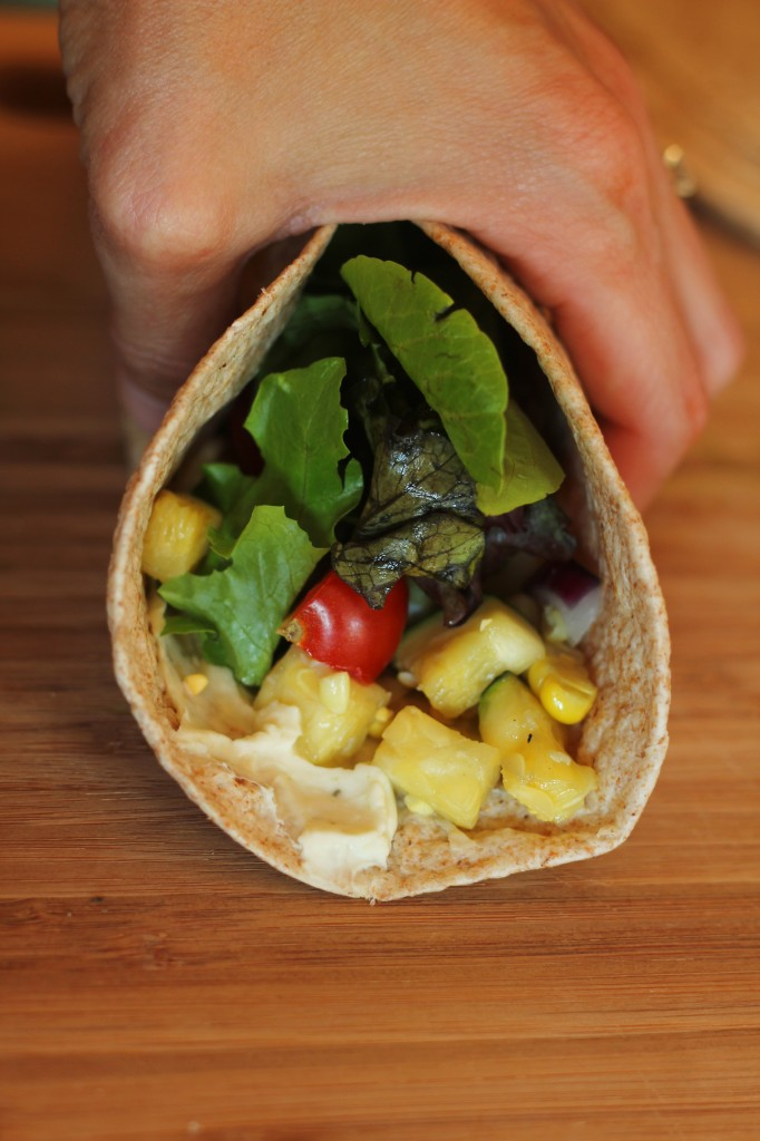 Veggie Wraps | gatherforbread.com