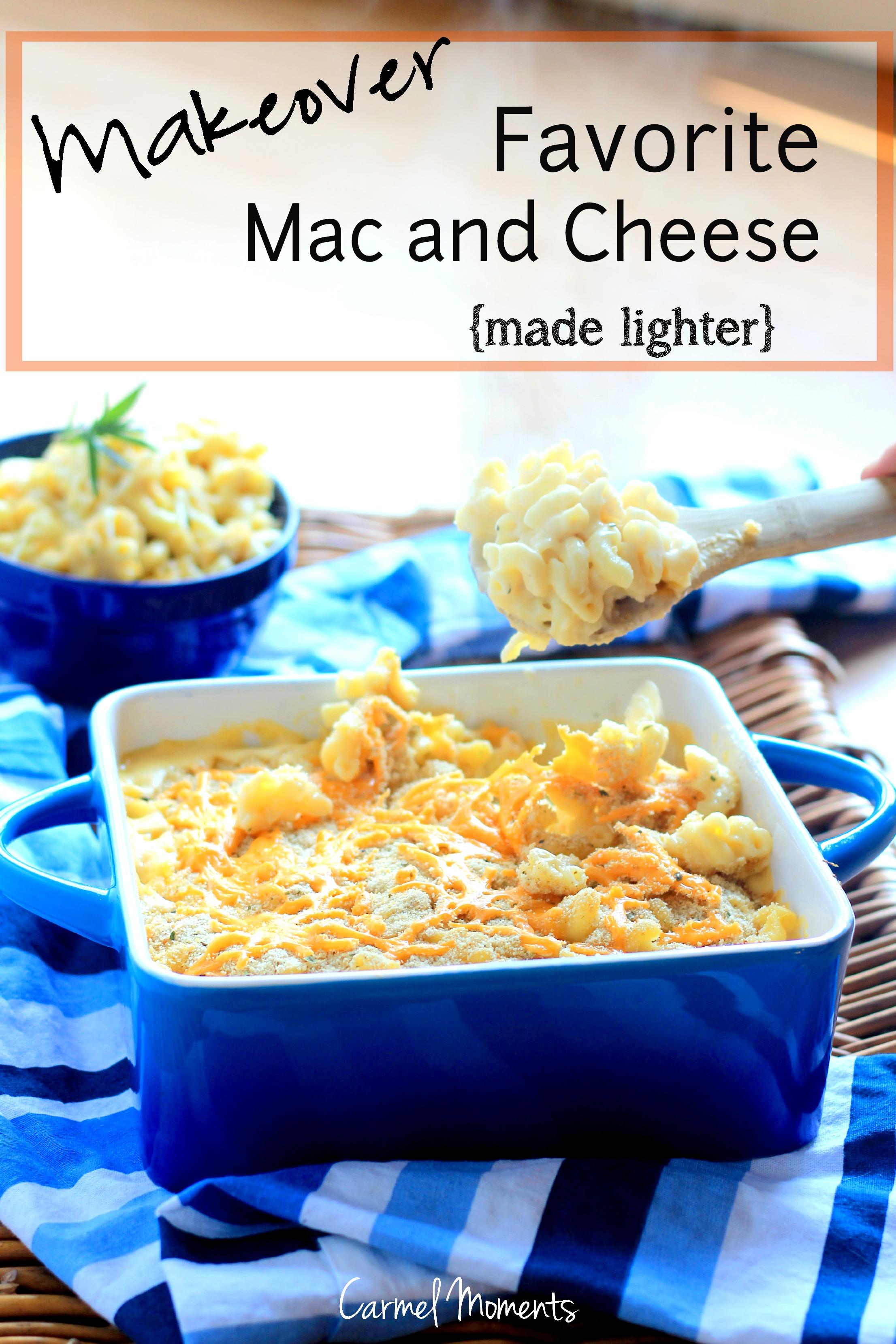 Favorite Macaroni and Cheese ~ Lightened Up