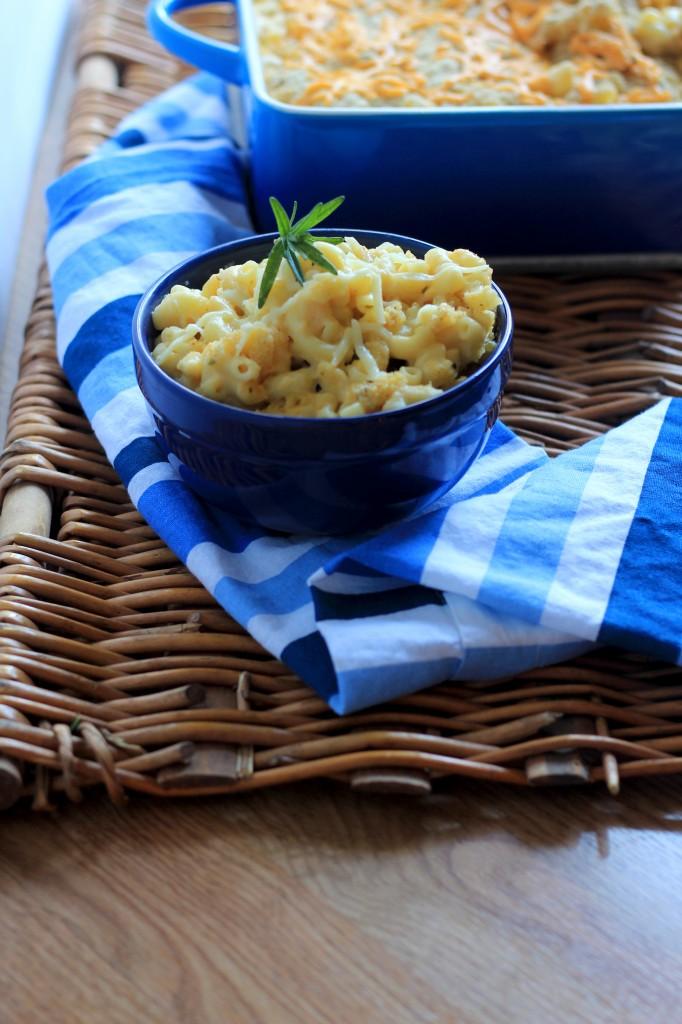 Lightened Up Macaroni and Cheese