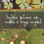 How to Help in Simple Ways – Umbrella and A Smile ~ Week 2