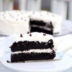 Devil's Food Cake with Buttercream Icing