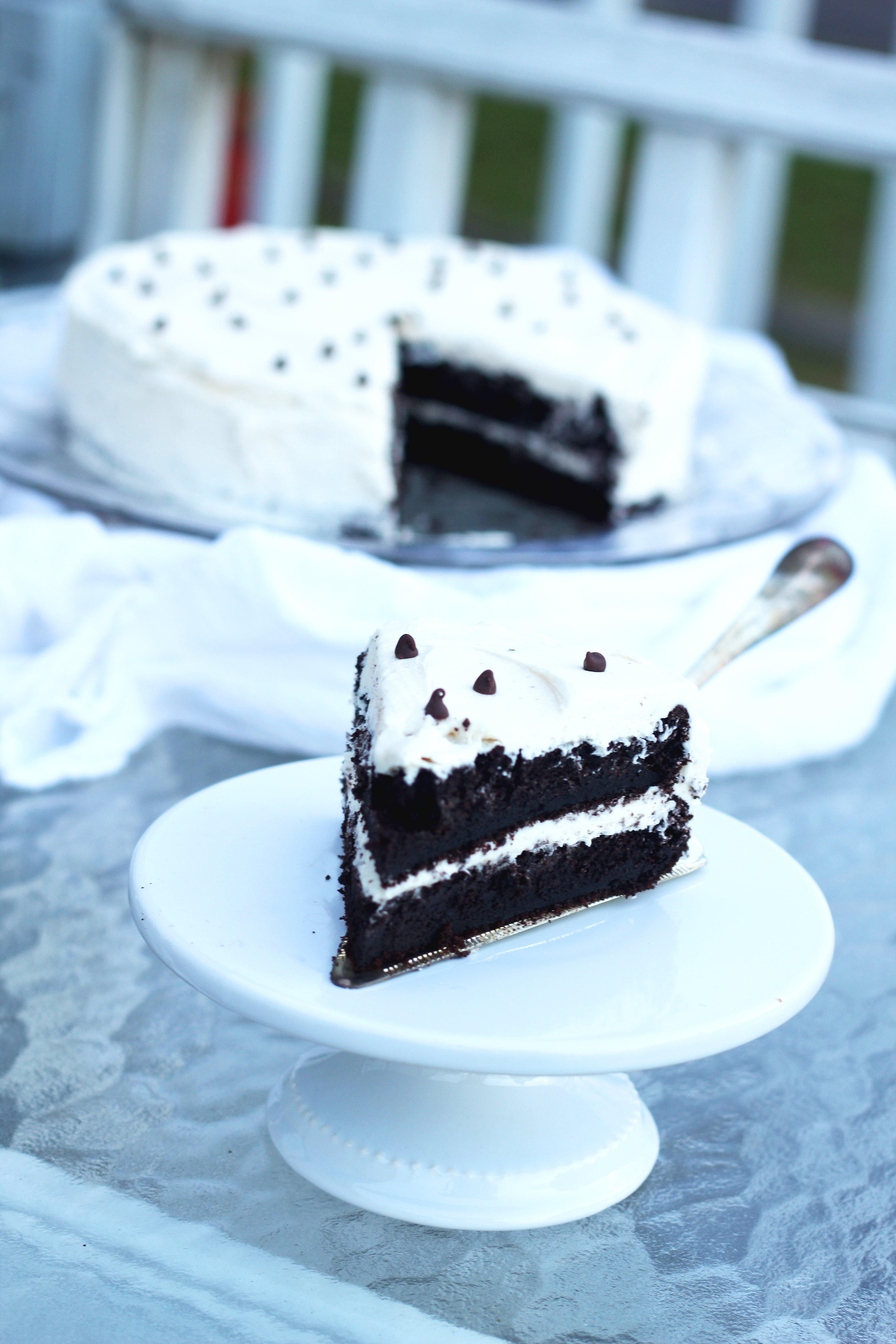 Devil's Food Cake with Buttercream Icing - This rich and delicious ...