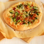 Broccoli Bacon Cheddar Pizza