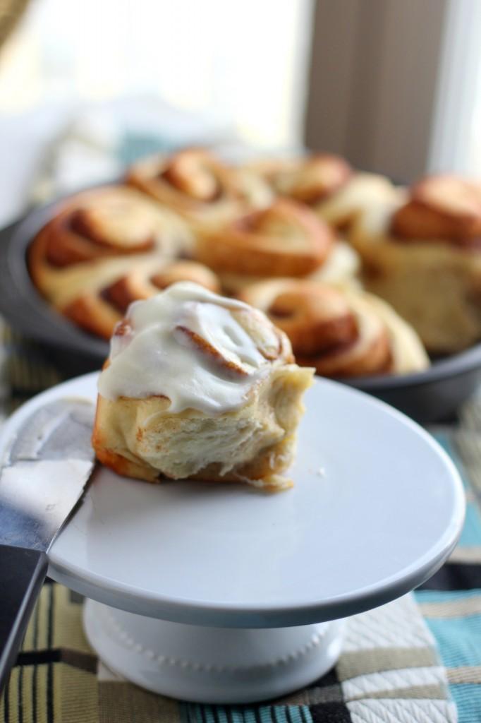 Perfectly Sweet Cinnamon Rolls | gatherforbread.com