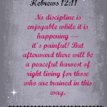 Word of the Year – 2014 – Self Discipline