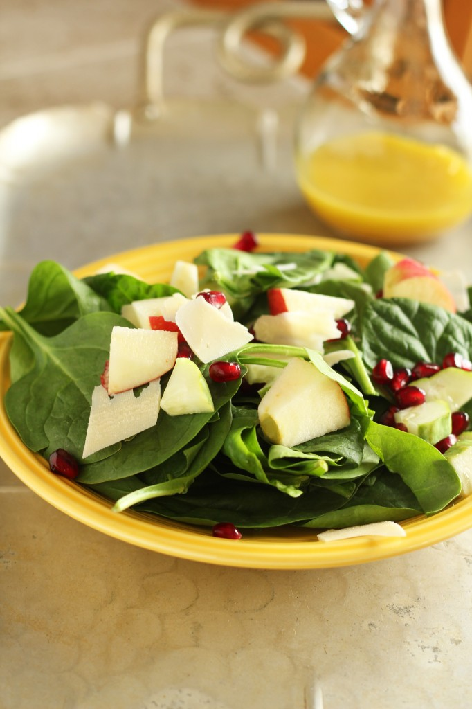 Poppin Pomegranate Salad | gatherforbread.com