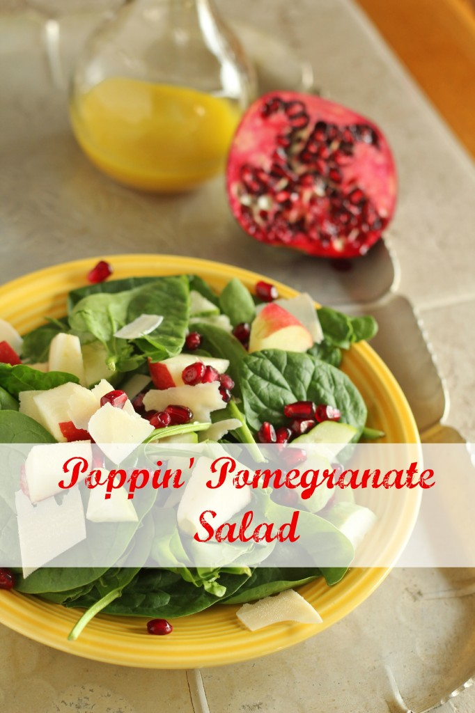 Popping Pomegranate Salad | gatherforbread.com