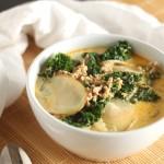 Sausage, Potato and Kale Soup aka Zuppa Toscana