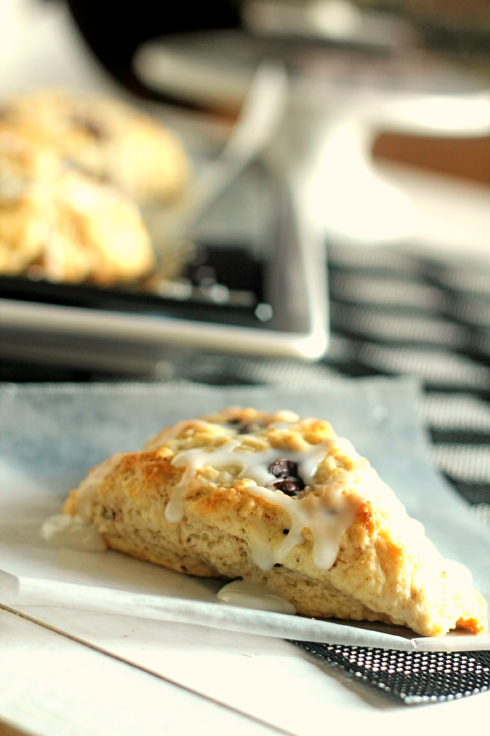 Coconut Chocolate Chunk Scones