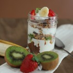 Nutella Granola and Fruit Parfaits
