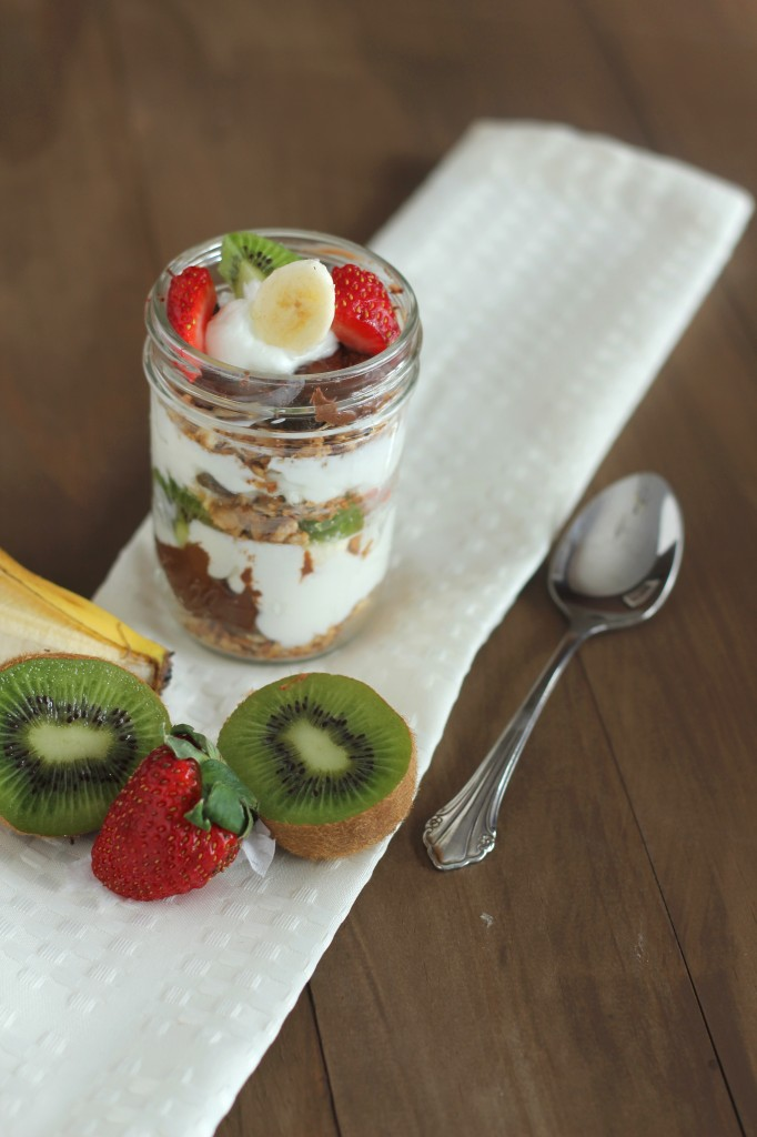 Nutella Fruit and Yogurt Parfait2