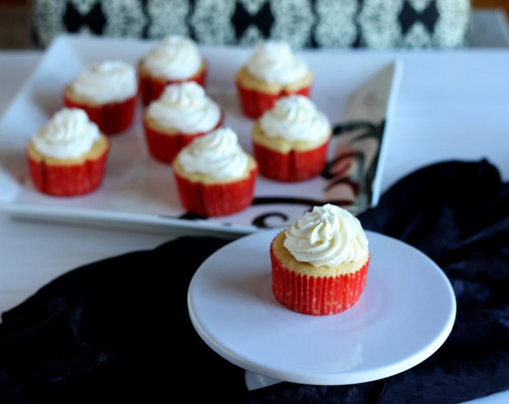 Vanilla Bean Cupcakes \ Carmel Moments