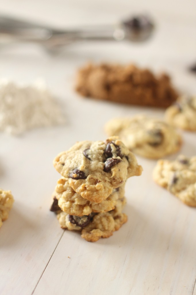 Soft Cream Cheese Dark Chocolate Chip Cookies-  A soft cookie with a hint of cream cheese. Loaded with dark chocolate wrapped up in a bite.