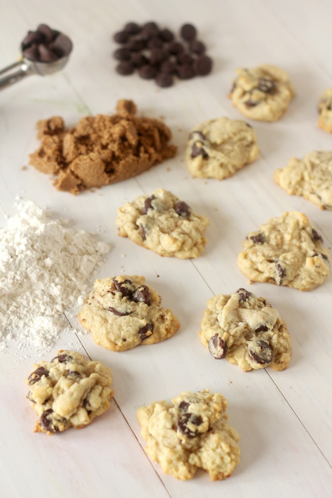 Soft Cream Cheese Dark Chocolate Chip Cookies A soft cookie with a hint of cream cheese. Loaded with dark chocolate wrapped up in a bite.