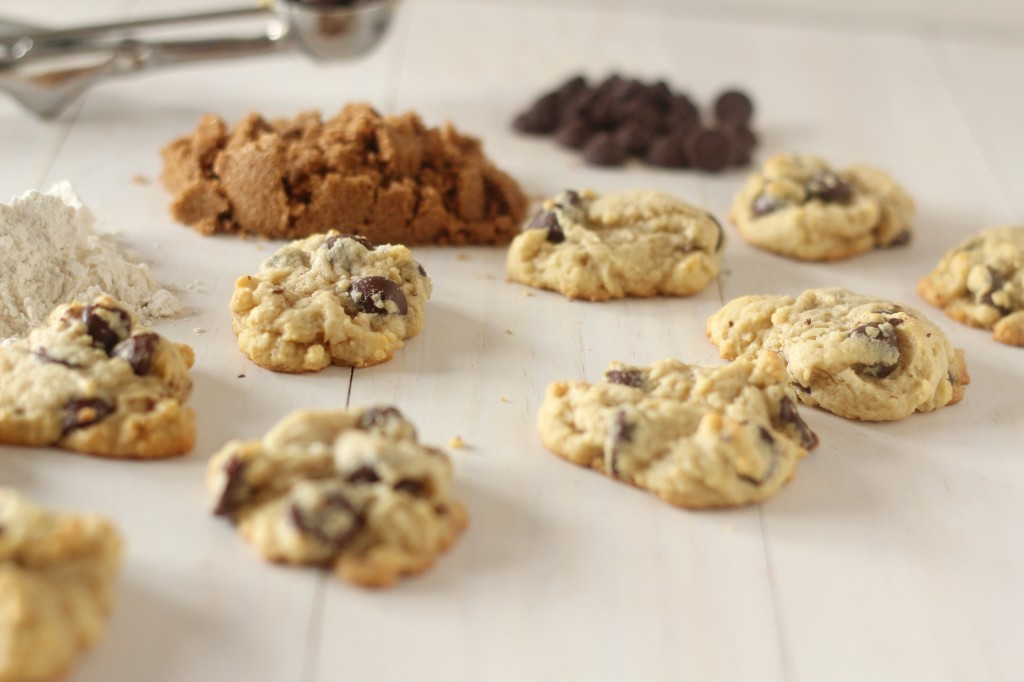 Soft Cream Cheese Dark Chocolate Chip Cookies - A soft cookie with a hint of cream cheese. Loaded with dark chocolate wrapped up in a bite.