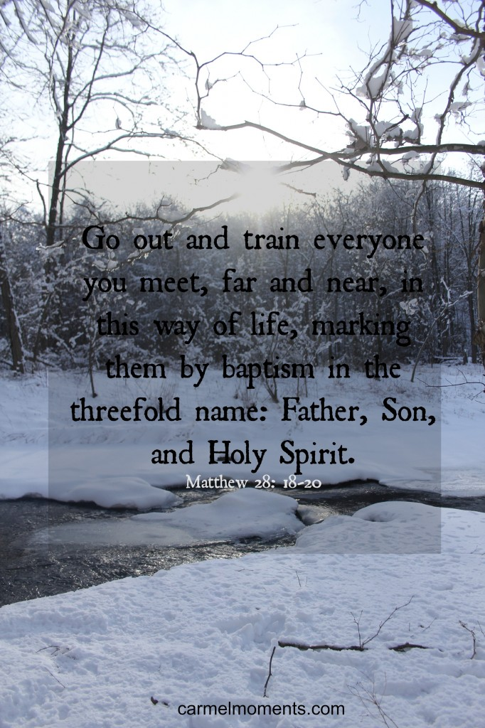 Matthew 28:18-20 Msg