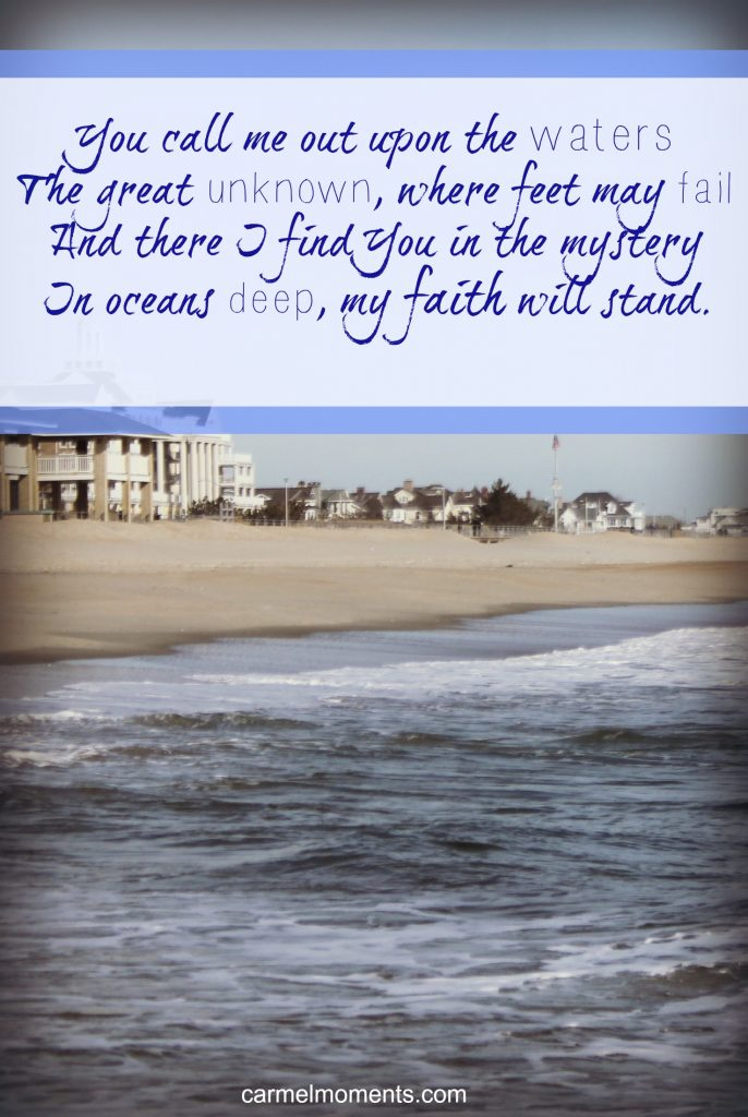 *Hillsong*  In the mystery In oceans deep, my faith will stand. #worship #song #music