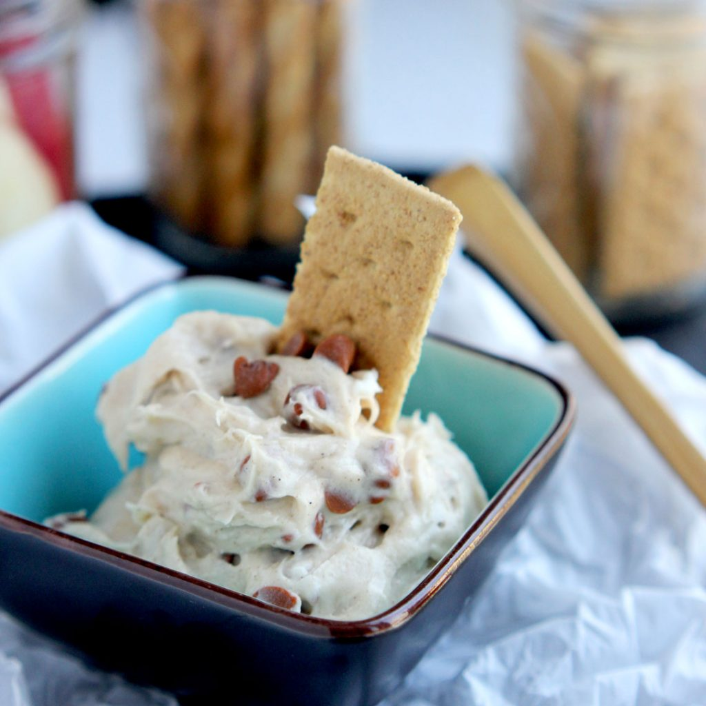 Cinnamon Cream Cheese Dip squared
