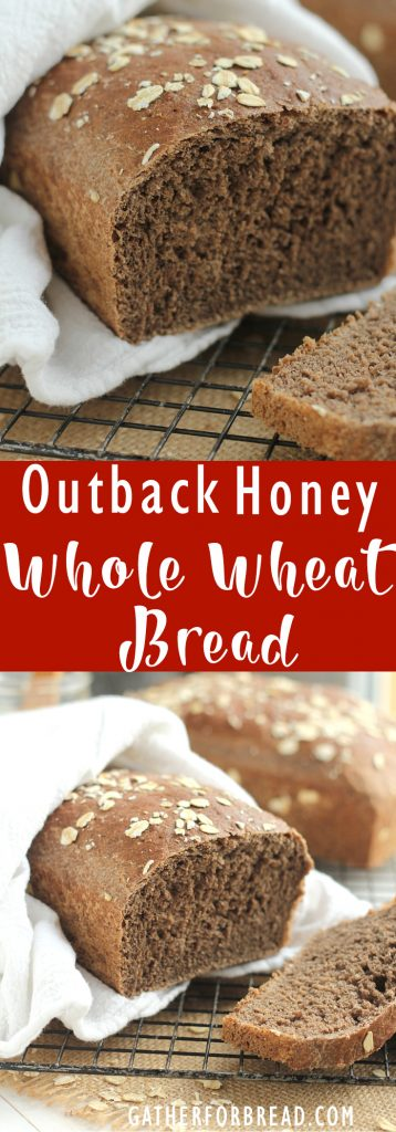 Outback Honey Whole Wheat Bread