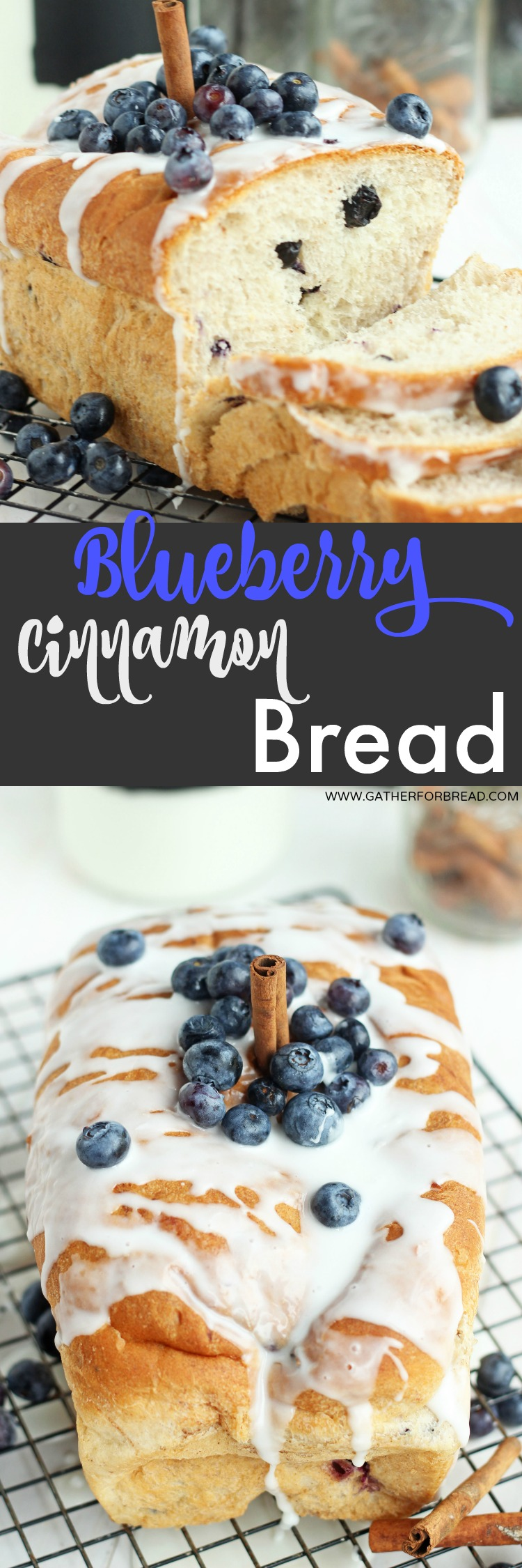 Blueberry Cinnamon Bread