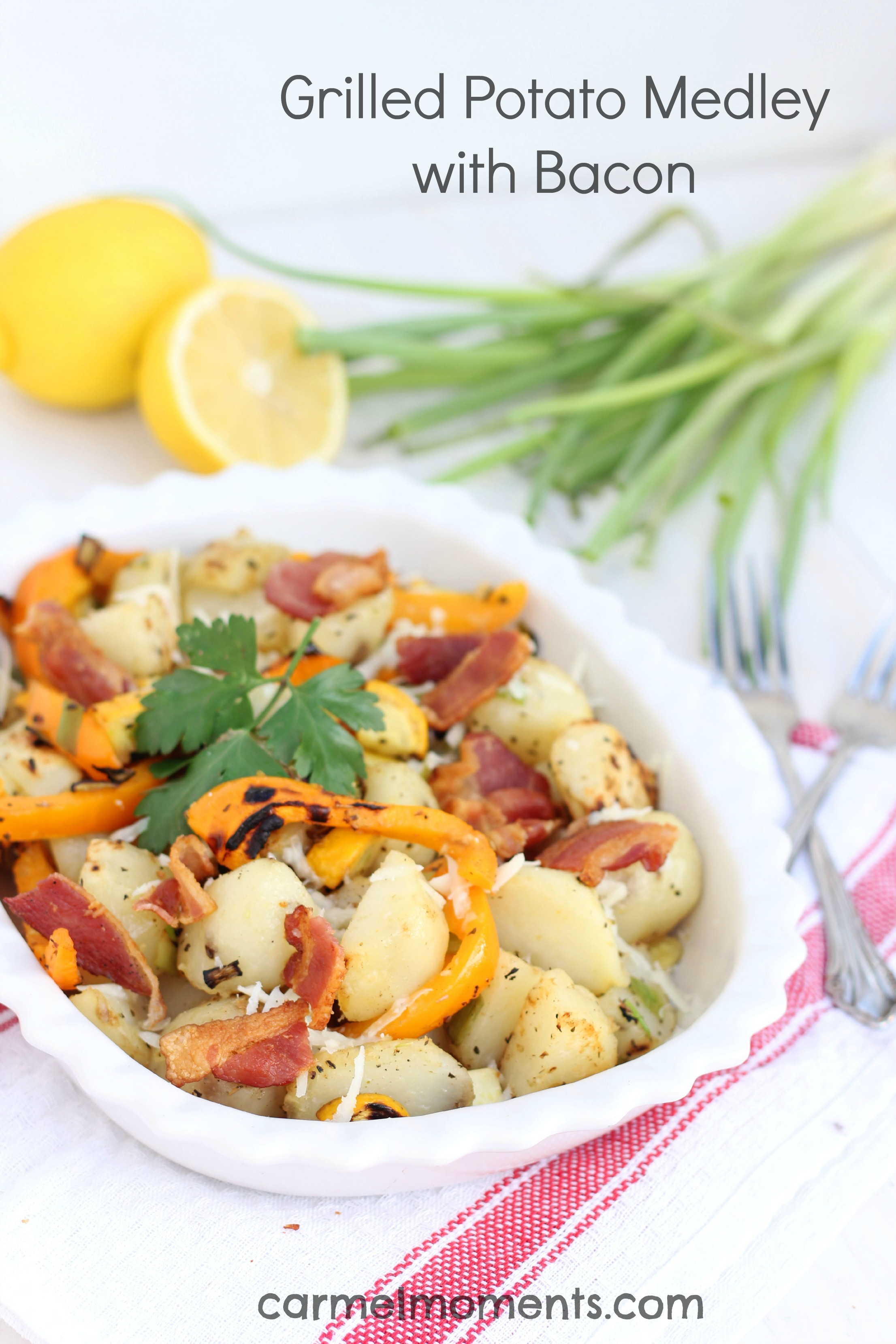 Grilled Potato Medley with Bacon