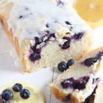 Lemon Blueberry Yogurt Bread