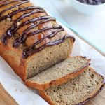 Zucchini Bread with Chocolate Glaze