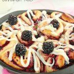 Blackberry Cinnamon Rolls