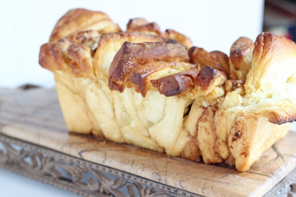 Apple Cinnamon Pull Apart Bread | Gather for Bread
