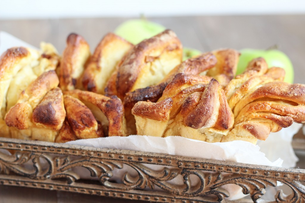 Apple Cinnamon Pull Apart Bread | Gather for Bread