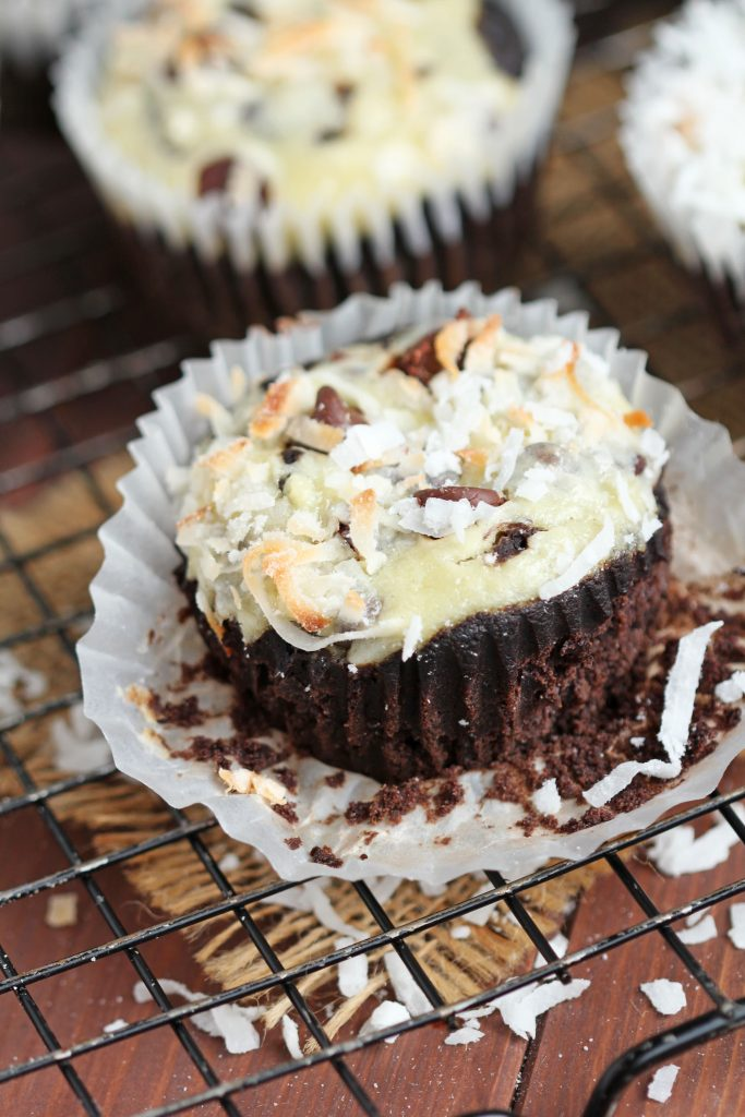 Chocolate Coconut Muffins Recipe — Dishmaps