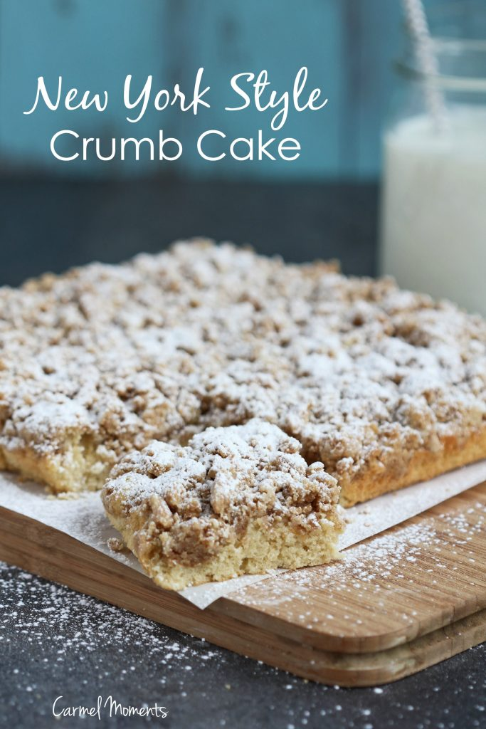 New York Style Crumb Cake - Classic comfort food! This perfect tender ...