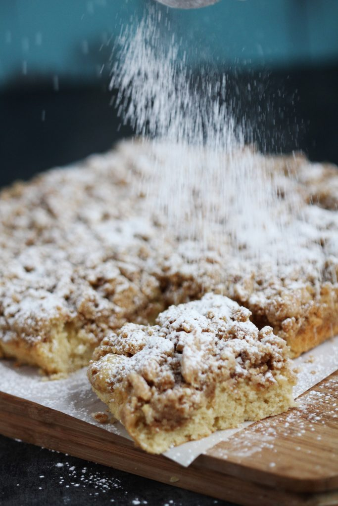 New York Style Crumb Cake - Classic comfort food. This perfect tender ...