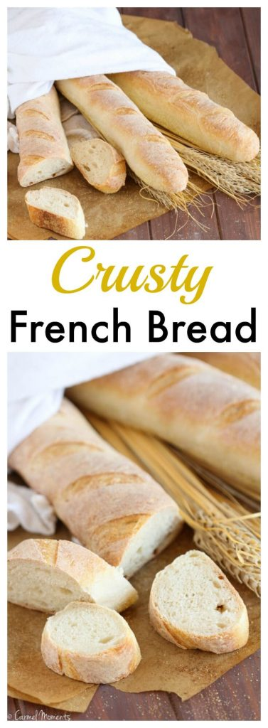 Bakery Style Crusty French Bread Baguettes - gatherforbread.com