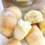 Easy No Knead Crescent Rolls