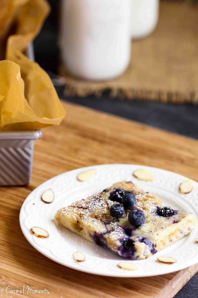 Blueberry Almond Cake Gluten Free