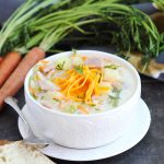 Cheesy Ham and Vegetable Chowder