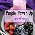 Purple Power Up Smoothie