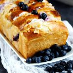 Blueberry Cream Cheese Pull Apart Bread