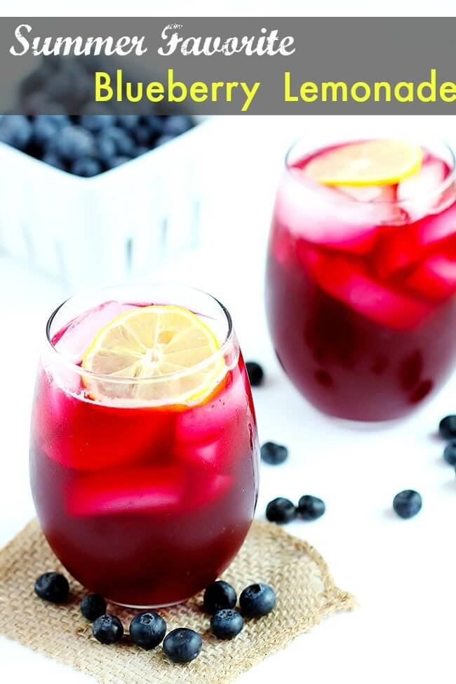 Blueberry Lemonade – Refreshing blend using fresh blueberries, real ...