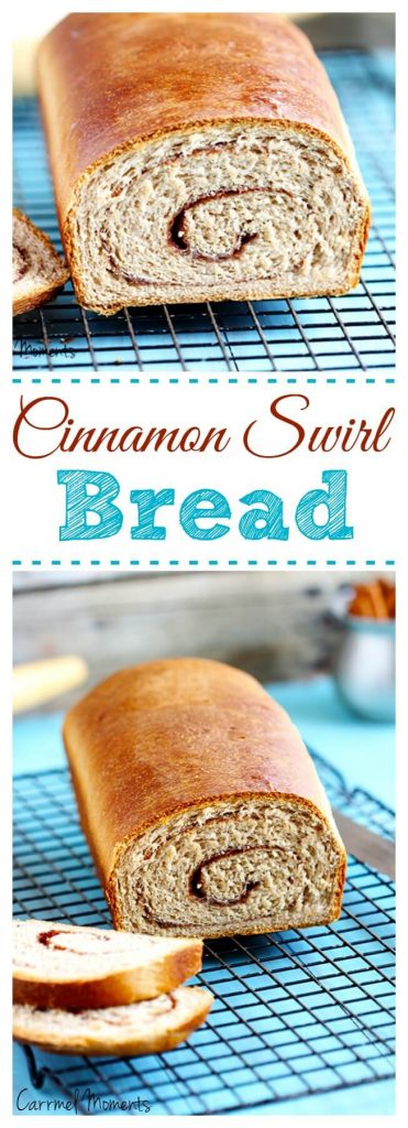 Cinnamon Swirl Breakfast Bread - A traditional cinnamon swirl bread. A simple yet perfect yeast bread with just the right amount of spice. Perfect for breakfast, brunch or as toast.