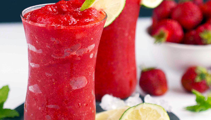 Strawberry Lime Slush
