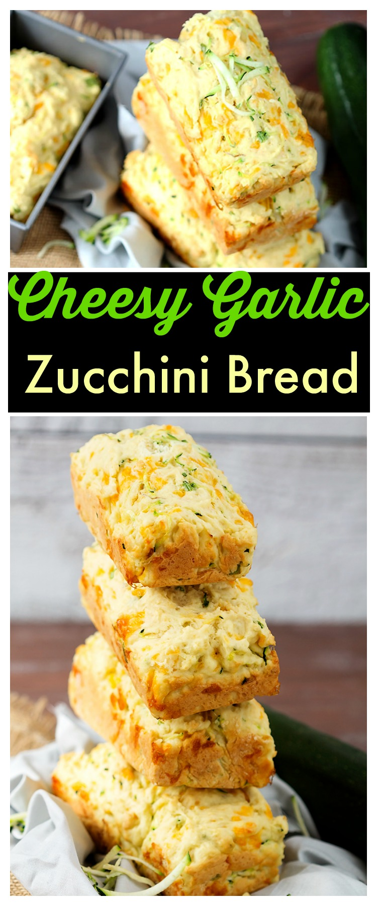 Zucchini Cheddar Bread Recipe — Dishmaps
