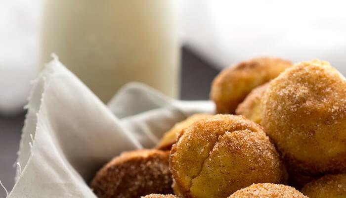 Cinnamon Sugar Mini Muffins
