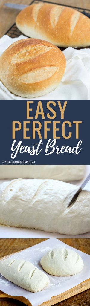 The easiest yeast bread I've ever made. So good that I make it several times each month. Makes 2 loaves, so you can share or freeze one for later.