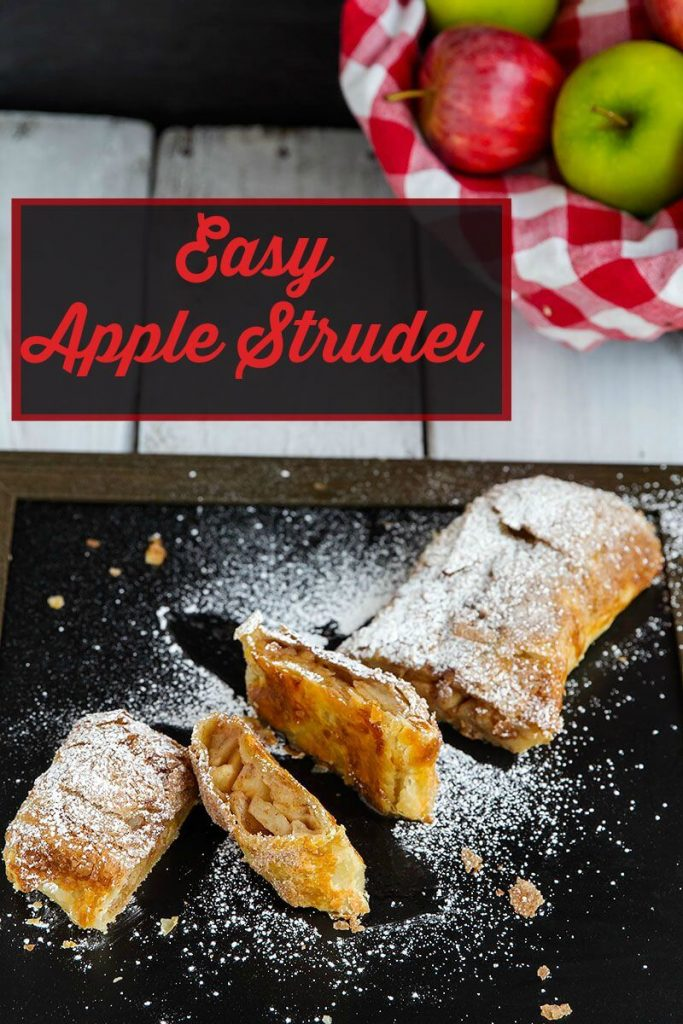 Easy Apple Strudel – Easy apple strudel with puff pastry dough ...
